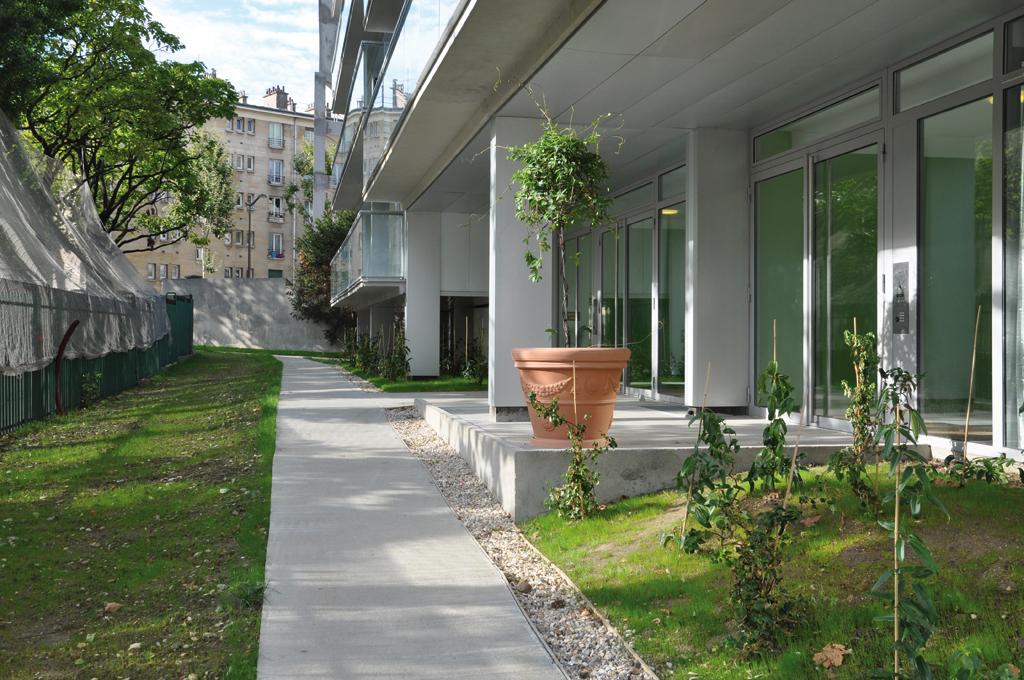 Le rez-de-chaussée après rénovation © Agence Lacaton & Vassal