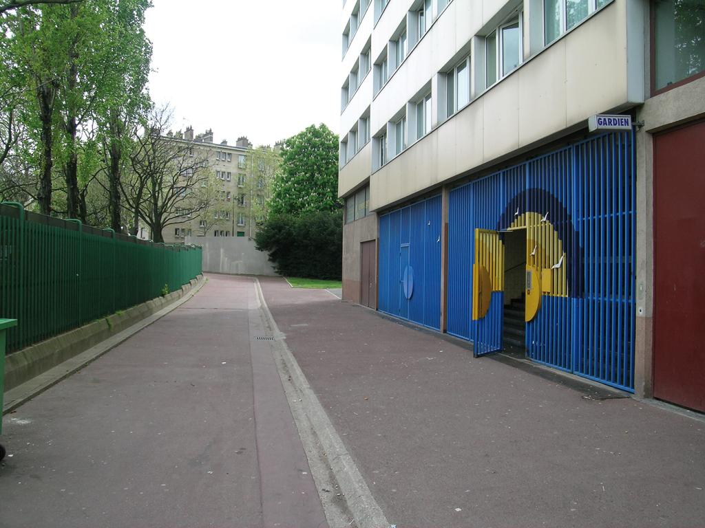 Le rez-de-chaussée avant rénovation © Agence Lacaton & Vassal