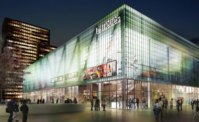 Nouveau cinéma municipal de Montreuil, à moins de 10 min. de métro des cinémas parisiens...