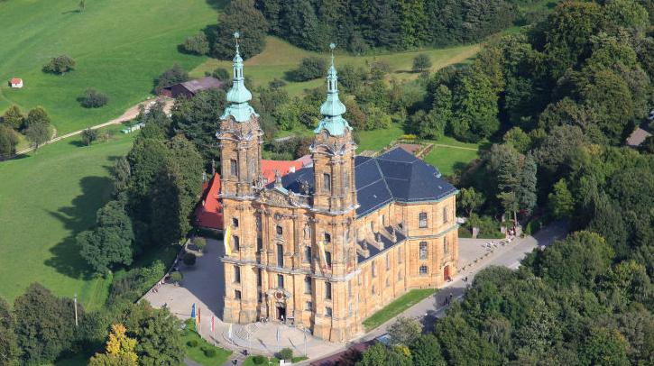 Vierzehnheiligen, la basilique travestie de Balthasar Neumann