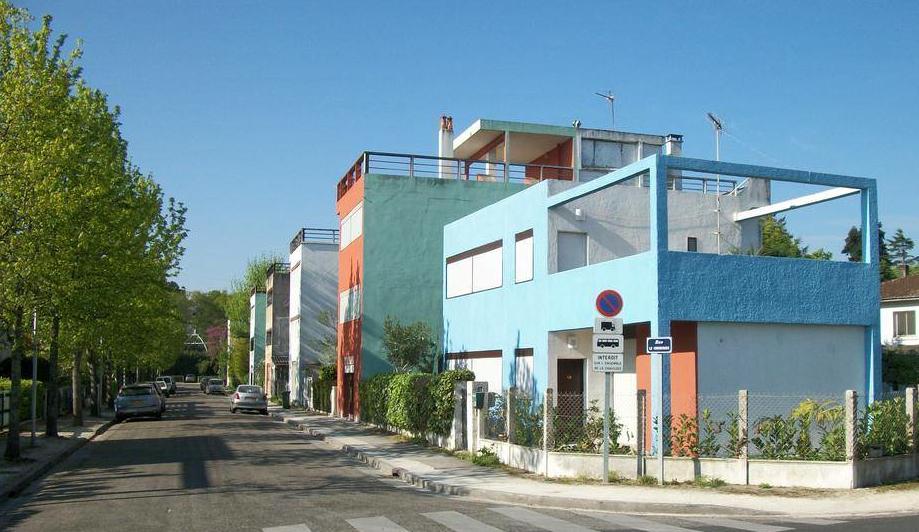 Les Quartiers Modernes Frugès à Pessac (1924 - 1926)